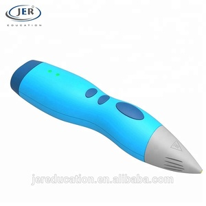 Portable Rechargeable Battery Low Temperature Safety Professional 3D Printing Pen