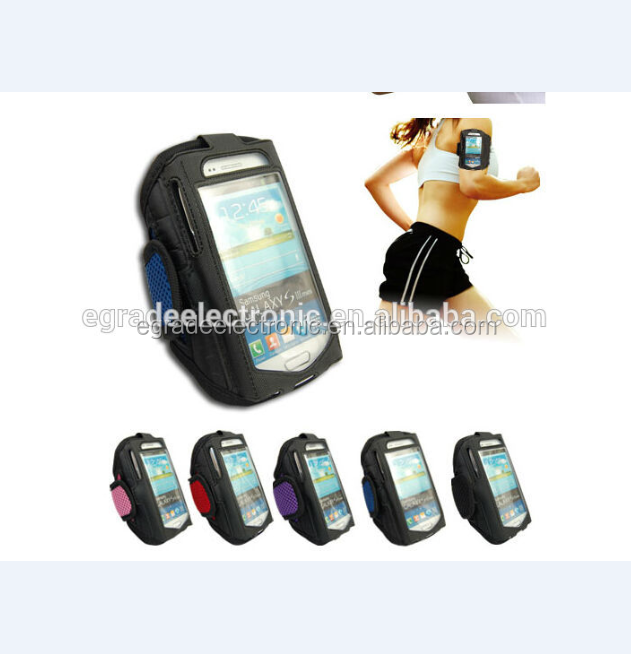 Premium Running Jogging Sports GYM Armband Case Cover Holder for Samsung Galaxy Note 2 II N7100 I9220
