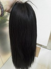 7A grade hot selling elastic band brazilian hair glueless full lace wig