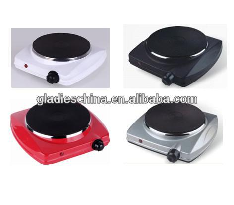 1500W Electric Single Hot Plate with CE A13 RoHS ETL CB