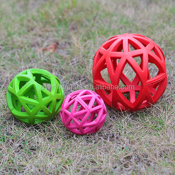 2014 Good quality soft Rubber pet toy ball for dogs/Rubber pet toy