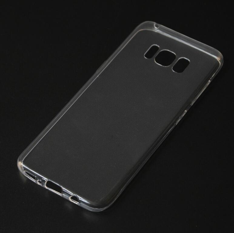 S8 0.5mm ultra thin clear tpu mobile phone case for galaxy s8 phone cover case transparent