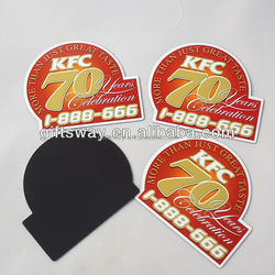 Factory production promotion gifts KFC frige magnet refrigerator magnet