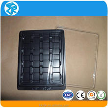 clear antistatic plastic container for electronics