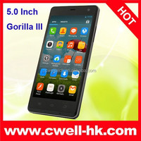 5.0 Inch THL Ultrathin 4400 Smartphone MTK6582 Quad Core 4400mAh Big Battery Active Dual SIM Card Mobile Phone