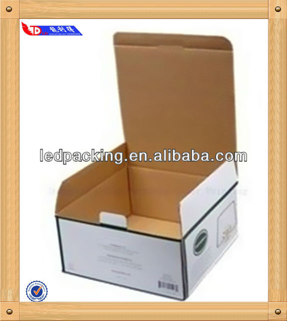Custom made 3-ply corrugated carton box