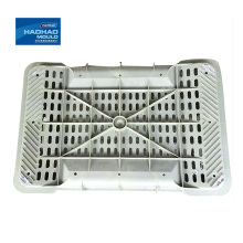 Plastic injection rice fruit vegetable wash basket mould custom Abs Plastic Injection Moulding