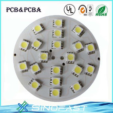 Flat Printed Electronic Circuit Board Dome LED Switch