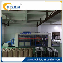 Full-automatic plastic thermoforming machine