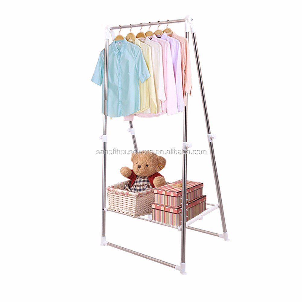 Wholesale Outdoor Drying Poles Telescopic Clothes Dryer Foldable Drying Rack