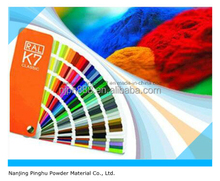 Ral Colors Powder Paint with Low Price