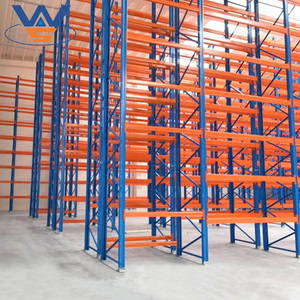 Heavy duty corrosion protection selective storage pallet racking warehouse storage rack