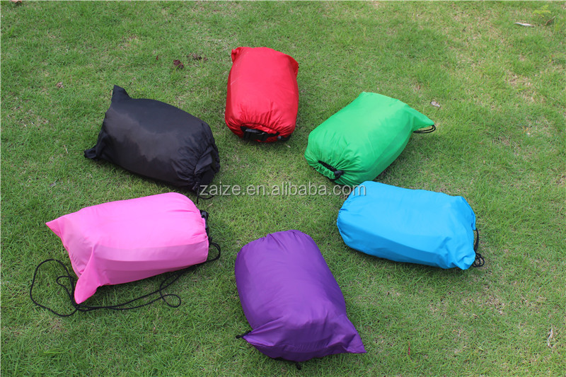 nylon 210T ripstop nylon Inflatable Colorful Beach Air sack