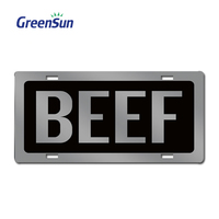 Latest Fashion antique tr aluminum blank license plate