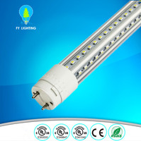 8 feet clear cover 180 degree Rotatable led tube 36w UL cUL approved