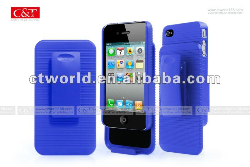 rubber oil hard clip case for Iphone4/4s