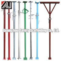 Heavy Duty Adjustable Scaffolding Steel Props for connecting the pipe (Made in Guangzhou,China)
