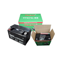 Koyama excellent 12V 7Ah Maintenance Free Motorcycle starting battery YTX7A-BS-MF