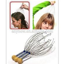 Hot Sale Spider Handy Head Vibrating Wire Scalp Massager comfortable