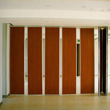 Floor to Ceiling Office Partitions Sound Proof Wall Panel Folding Sliding Wall Partition