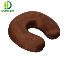 Memory foam filling soft neck support travel pillow