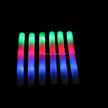 custom LED flashing foam glow sticks/LED Baton Wand