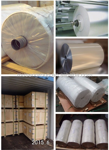 8011 aluminum lidding foil roll FDA of yogurt packaging materials