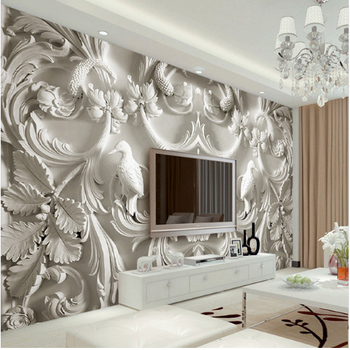 Home Decor Plastic Custom Any Size Commerce Wall Mural
