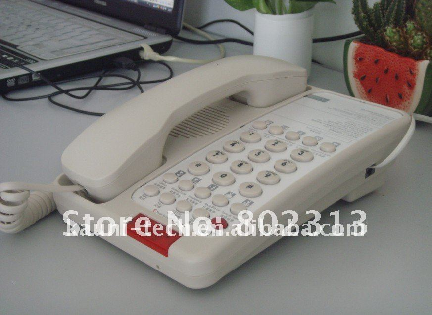 Hotel Telephone for guest room (1line and 2lines optional)