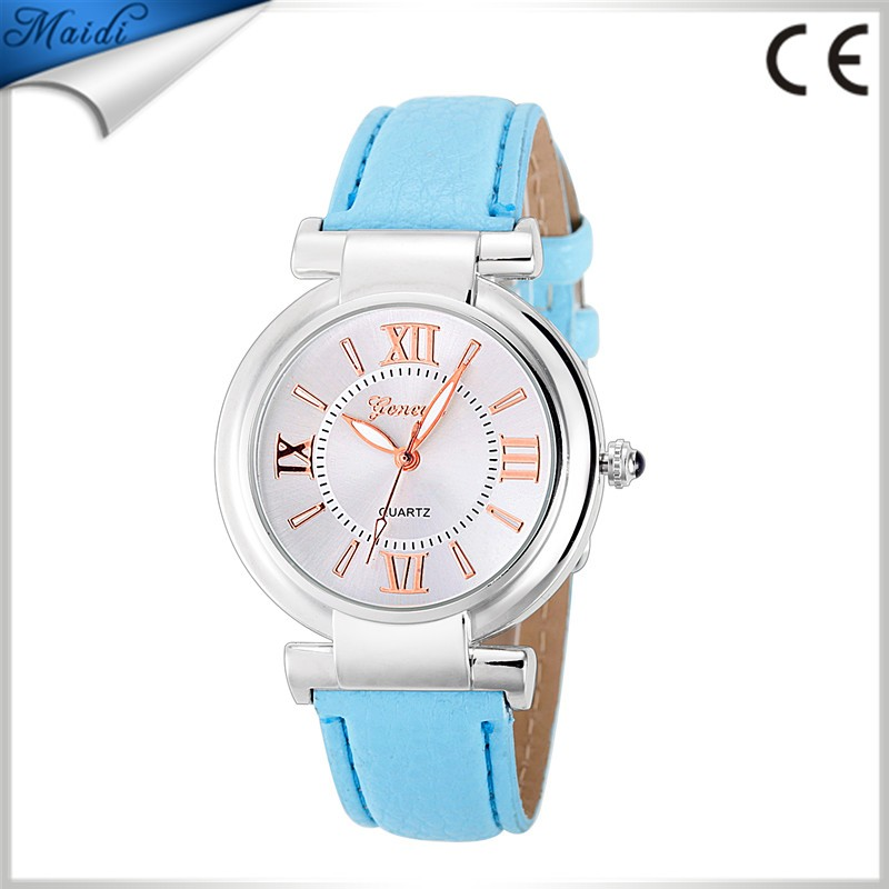 Women Dress Fashion Geneva Women Watches Leather Quartz Watch Casual Wristwatch Montre Femme Relojes Mujer GW078