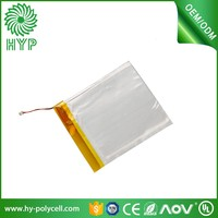 105256 3.7v 180mAh ultra thin lithium polymer rechargeable battery for bluetooth keyboard