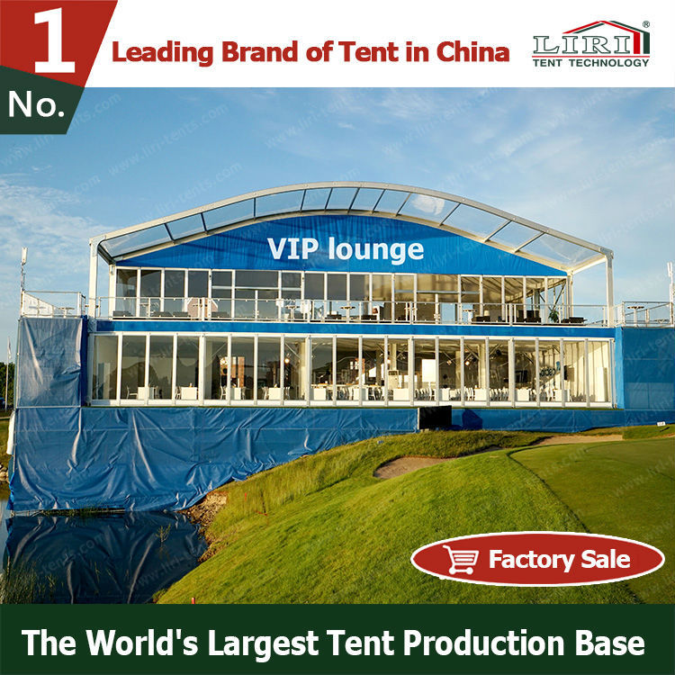 Dome Roof And Hard Wall Double Storey Tent with Strong 6061/T6 Aluminium Frame