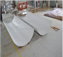 Joint invisible White Solid Surface slabs for wall panels,Artificial acrylic solid surface sheet