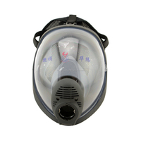Silicone Full Face Gas Mask Oxygen