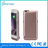 Super slim and light design 8200mAh battery charger case for iphone 6 plus
