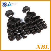 "New Arrival Unprocessed Virgin Brazilian French Curl Hair Extensions, Free shipping mix length 16"" 18"" 20"" 3 bundles/Lot"