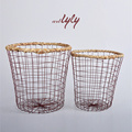 wire mesh basket rustic wire fruit basket wire laundry basket