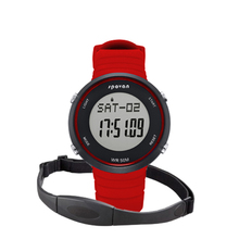 Body fit heart rate monitor wrist pedometer watch