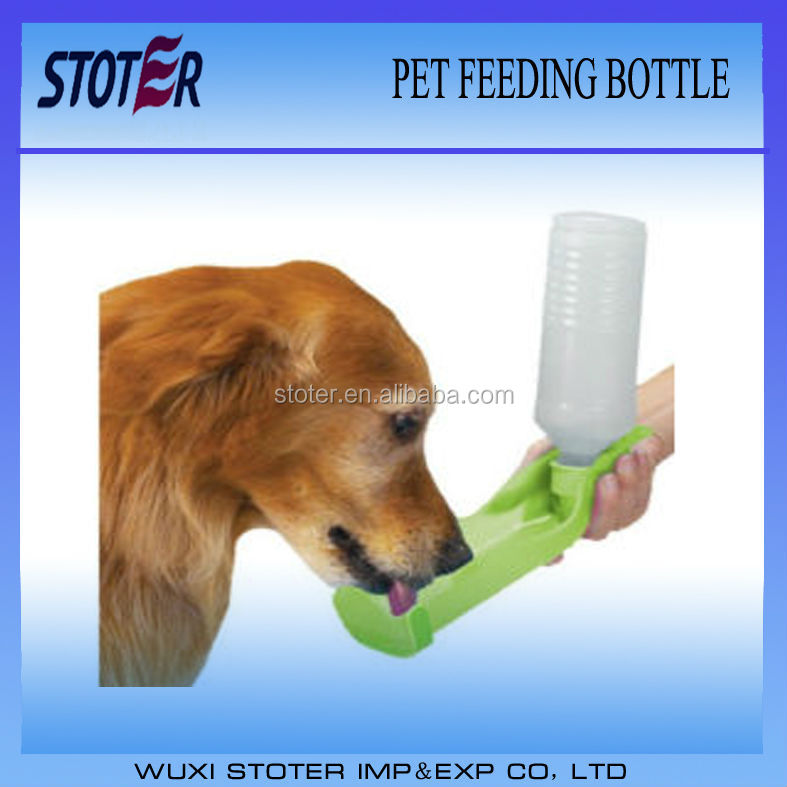 portable pet feeding bottle/dog dispenser/pet travel drink water bottle