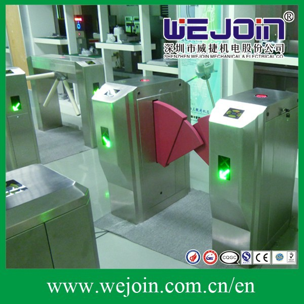 automatic flap barier gates access control system for apartment