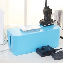New Case Box Anti Dust Plastic Organizer Cable Power Line Socket Storage Box small size 23.3*11.4*11.8cm