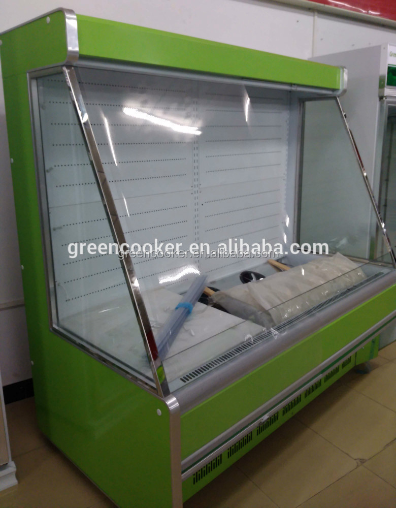 Supermarket vegetable cooler/fruit storage refrigerator