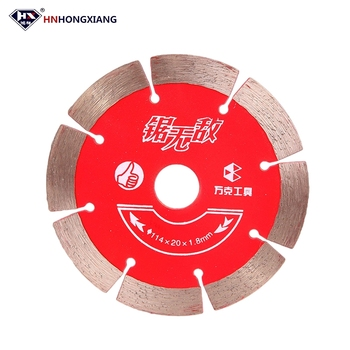 Sharpening diamond segment saw blade cutting disc for stone