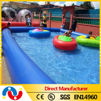 2015 Wholesale hot sale inflatable swim pool above ground inflatable galvanized steel swimming pool