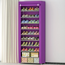 fashion 10 tier shoe rack organizer with cover