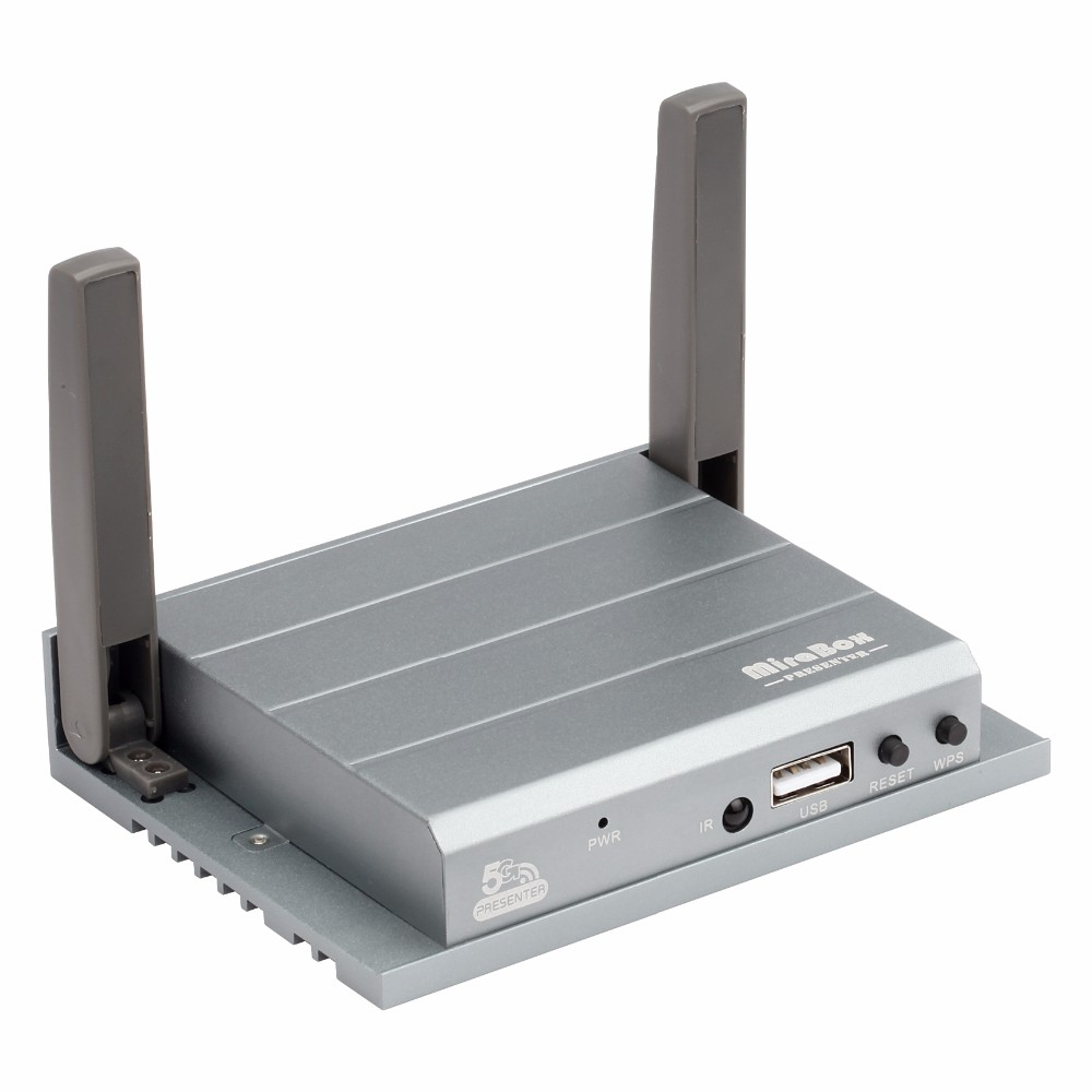 HotSpot 5G WiFi interactive presentation gateway Mirabox Presenter for business and presentation