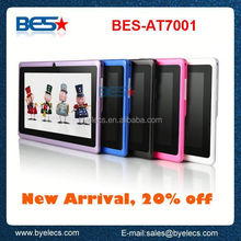 "512+4G dual core Action7021 with wifi android 4.0 q88 7"" tablet palmtop"
