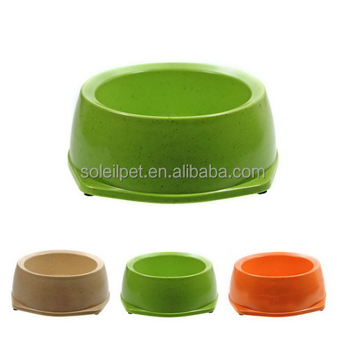 Eco-Friendly Bamboo Fiber Pet Bowl For Wholesale