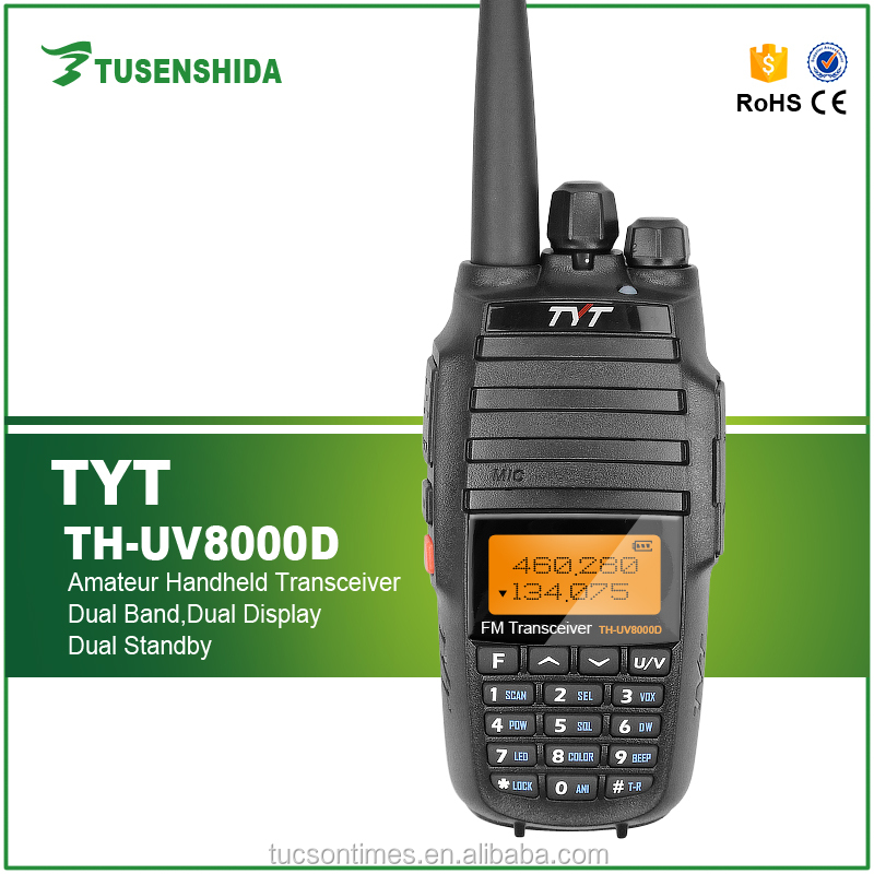 TYT Walkie Talkie TH-UV8000D Transceiver vhf uhf Dual Band <strong>Mobile</strong> Radio for Wholesale