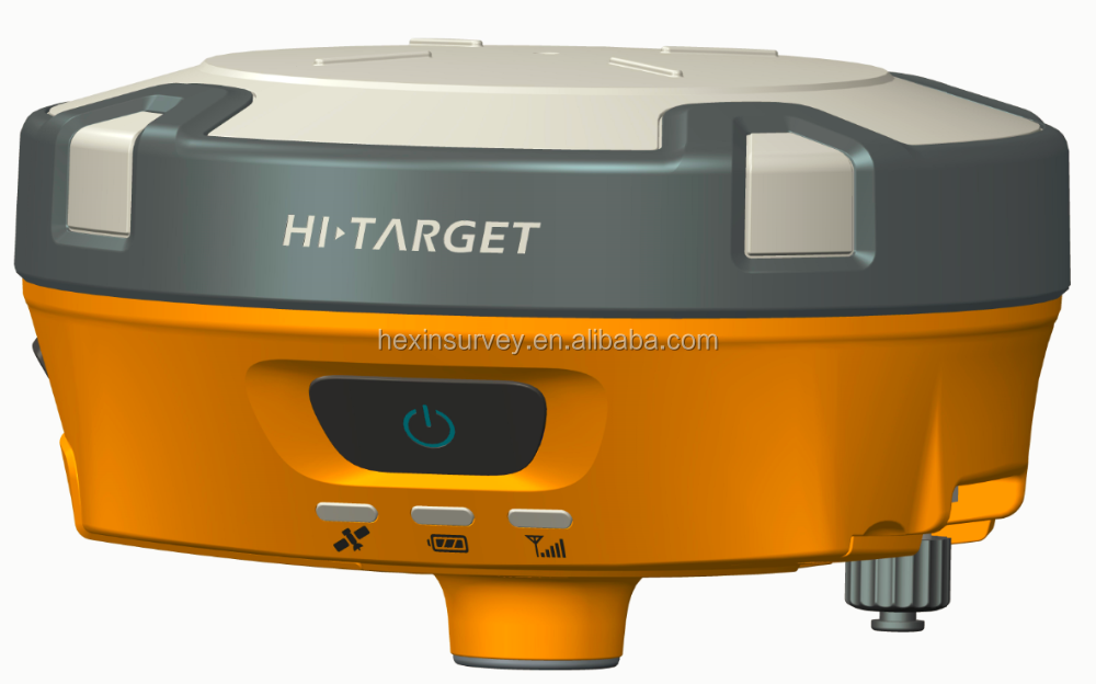 Hi-target V90 dual-frequency rtk gps equiped withe electronic bubble calibration gps rtk